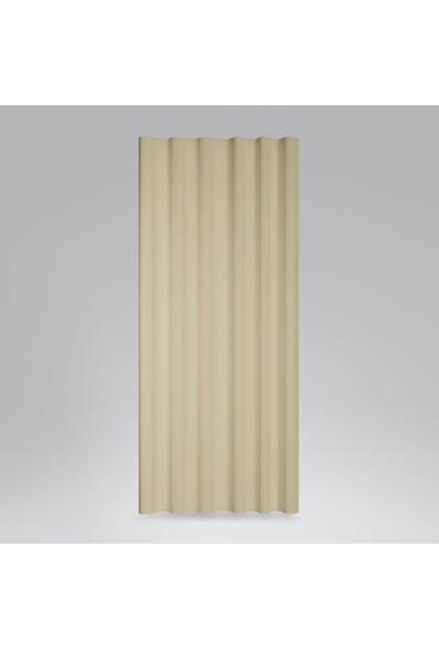 Soysaraç Harmony Pilesiz Fon Perde 140 x 260 cm