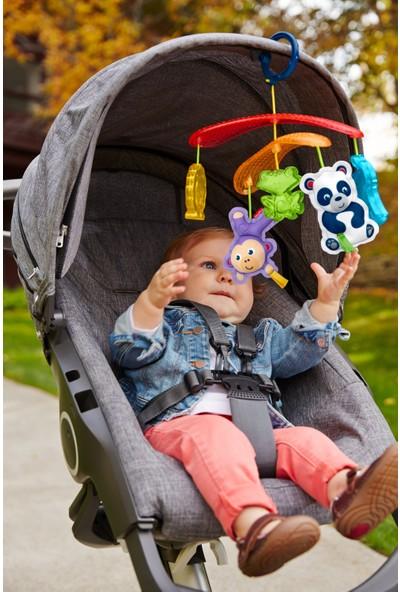Fisher-Price Mini Dönence - Bebek Arabasına Takılabilir Taşınabilir Dönence DYW54
