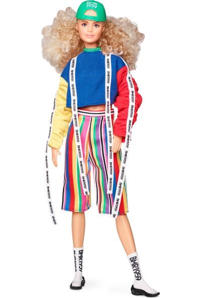 BMR1959 Koleksiyon Barbie Bebeği, Şapkalı - Kıvırcık Saçlı GHT92