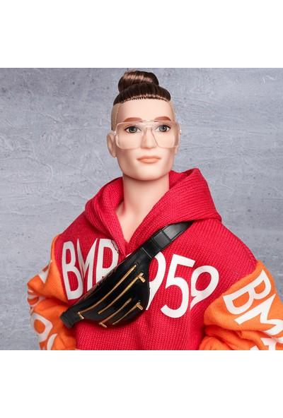 BMR1959 Koleksiyon Ken Bebeği, Gözlüklü - Bel Çantalı GHT93