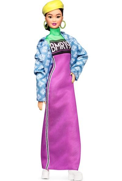 BMR1959 Koleksiyon Barbie Bebeği, Kot ceketli - Şapkalı GHT95