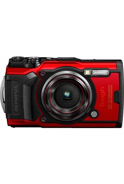 Olympus Tough Tg-6 Suya Dayanıklı Kamera Kırmızı (Yurt Dışından)