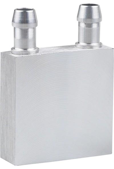 Joytech Alüminyum Sıvı Su Cpu Isıtma Soğutma Bloğu 40X40X12MM