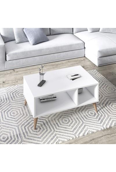 Ruum Store By Doğtaş Vega Orta Sehpa Opak Beyaz