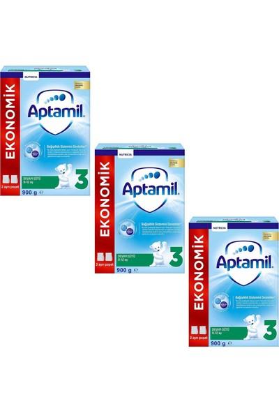 Aptamil Pronutra 3 Devam Sütü 900 gr 3'lü Paket