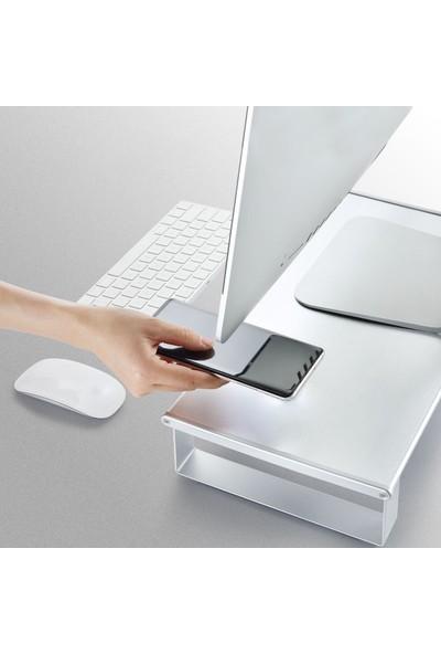 iDock L21 USB 3.0 Type-C Hub'lı Alüminyum Sağlam Monitör Yükseltici