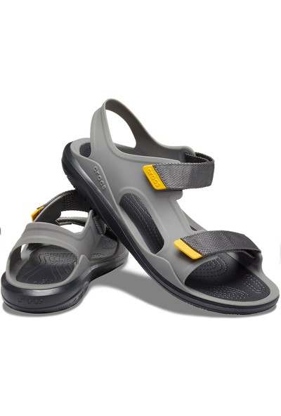 Crocs 206526-0DY Slate Grey Crocband Sandalet
