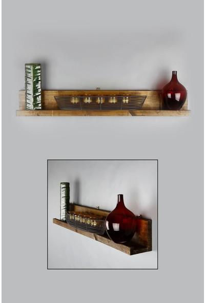 Dekolia By Foresta Masif Ahşap Raf ART2040