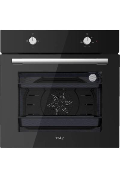 Esty Siyah Eko Set (2240 Davlumbaz - AEF5330B01 Ocak - AEF6601B02 Fırın)