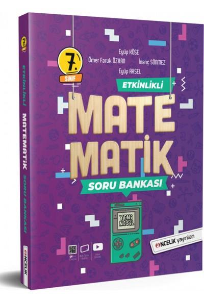 Öncelik Yayınları 7. Sınıf Etkinlikli Matematik Soru Bankası