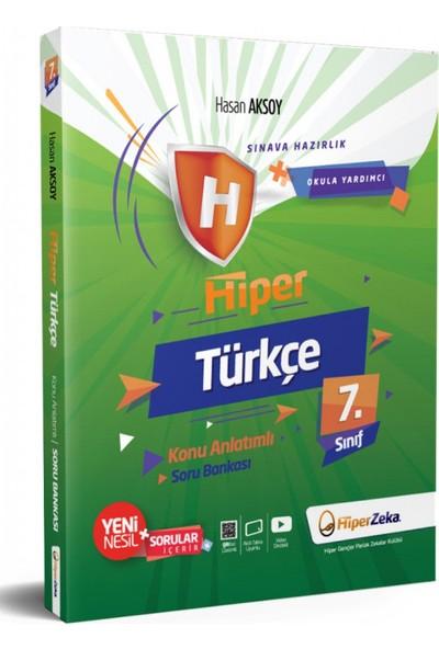 Hiper Zeka Yayınları 7. Sınıf Türkçe Konu Anlatımlı Soru Bankası