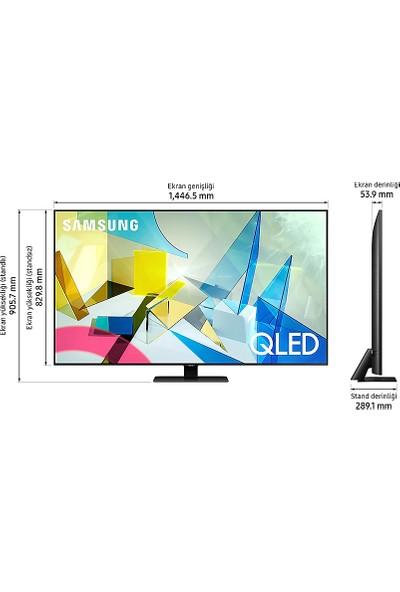 Samsung 65Q80T 65'' 165 Ekran 4K Ultra HD Smart QLED TV
