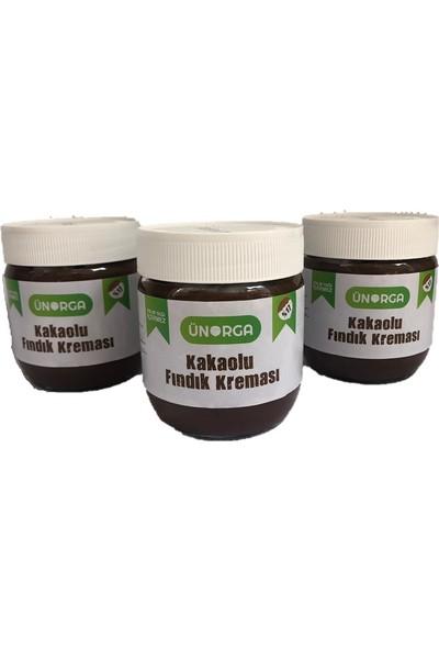 Ünorga Kakaolu Fındık Kreması 400 gr Giresun Fındık