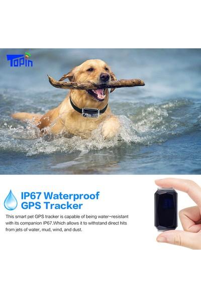 Sw Future G12P Su Geçirmez IP67 Mini Gps Agps Lbs Wifi Evcil Hayvan İçin Gerçek Zamanlı Takip Tasması (Yurt Dışından)