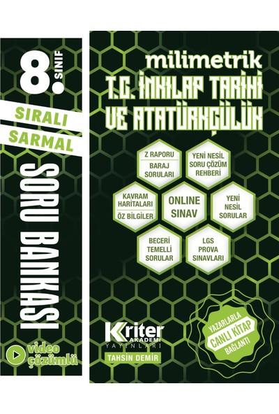 Kriter Akademi Yayınları 8. Sınıf Milimetrik Inkılap Tarihi Soru Bankası