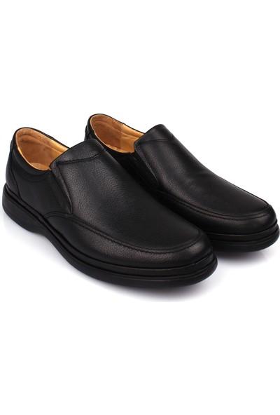 Detector İç Dış Komple Deri Jel Tabanlı Büyük Numara Günlük Erkek Ayakkabı ŞM209-3