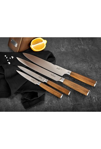 Karaca Hardwood 5 Parça Bıçak Seti