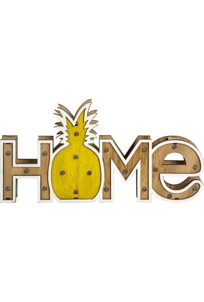 My Style Dekoratif Home Ananas LED Işık