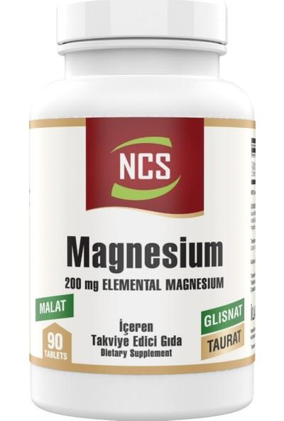 Ncs Magnesium Malat Taurat Glisinat 90 Tablet Element Formül