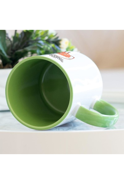 Hediyehanem Psikolojik Danışman Yeşil Kupa Bardak