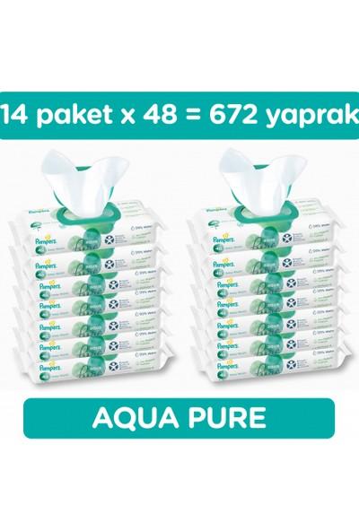 Prima Pampers Aqua Pure Islak Havlu 14 Paket 672 Yaprak