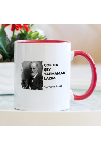 Hediyehanem Komik Sözler - Freud Kırmızı Kupa Bardak