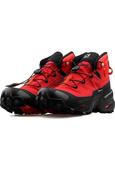 Salomon Erkek Trekking Bot ve Ayakkabısı Kırmızı Cross Hike Mid Gtx L41118700