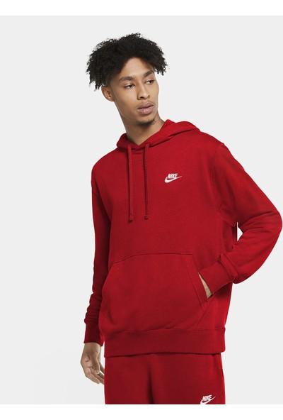 Nike Nsw Club Hoodie Po Ft Erkek Sweatshirt CZ7857-657
