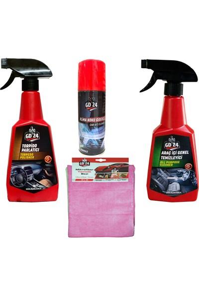GD24 Araç İçi Temizleme Seti
