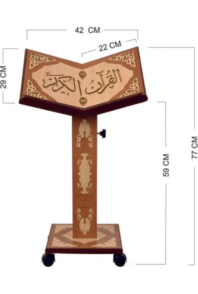 Hayır Rahlesi Asansörlü Kur'an-I Kerim Rahlesi