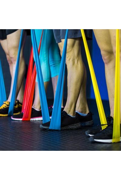 Buyfun 3'lü Yoga Germe Bantları Spor Egzersiz Direnç Bantları