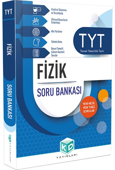 Kurumsal Deneme Yayınları TYT Fizik Soru Bankası