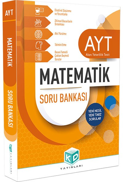 Kurumsal Deneme Yayınları AYT Matematik Soru Bankası