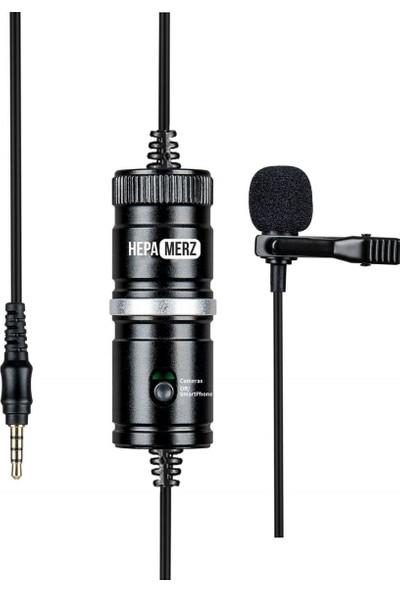 Hepa Merz Hm1 Hassas Youtuber Yaka Mikrofonu (Kamera Pc Telefon)