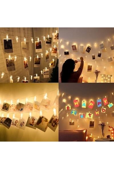 My Style 25 LED Işıklı Dekoratif Fotoğraf Albüm Mandalları