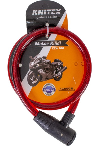 Knitex Bisiklet Kilidi 12X80CM KTX100