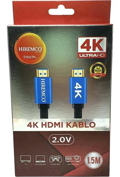 Hiremco 4K Ultra Hd HDMI Kablo - 1.5m