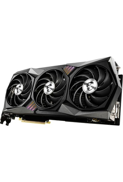 MSI GeForce RTX 3090 Gaming X Trio 24GB 1400MHz OC GDDR6X DX(12) PCI-Express 4.0 Ekran Kartı (GeForce-RTX-3090-GAMING-X-TRIO-24G)