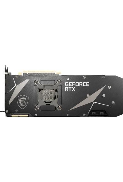 MSI GeForce RTX 3090 Ventus 3X 24GB 1400MHz OC GDDR6X DX(12) PCI-Express 4.0 Ekran Kartı (GeForce-RTX-3090-VENTUS-3X-24G-OC)