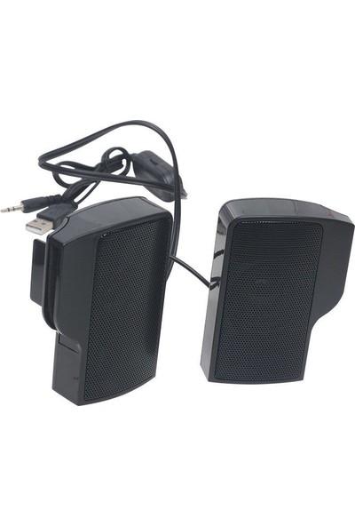 Magicvoice MV-19294 Mini 1+1 USB Notebook Hoparlör (2x3 Watt)