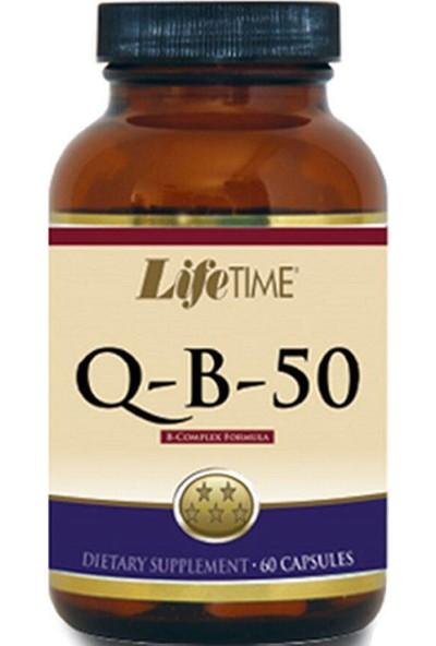 Lifetime B-50b -Comple Formula Takviye Edici Gıda 60 Kapsül