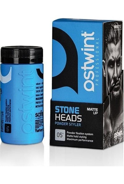 Ostwint 05 Stone Heads Saç Şekillendirici Toz Wax Mavi 20 ml