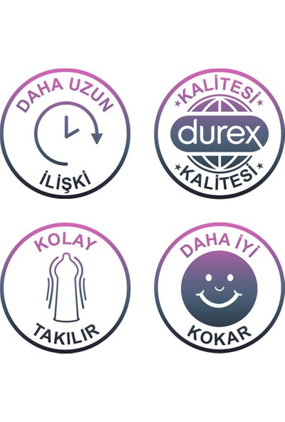 Durex Maraton 20'li Prezervatif + Durex Intense Prezervatif 10'lu