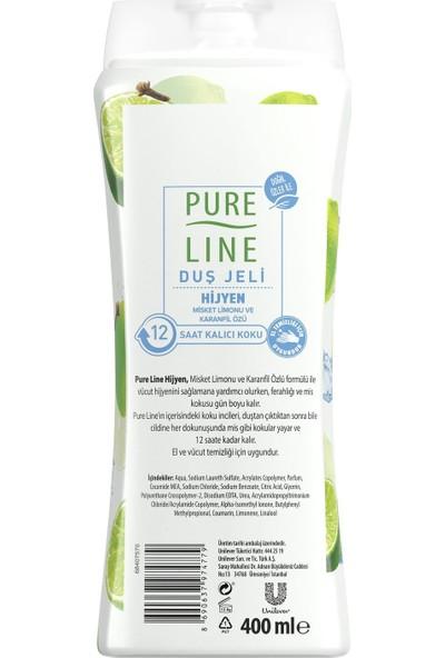 Pure Line Hijyen Misket Limonu & Karanfil Özü Duş Jeli 400 ml