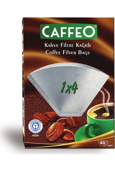 Caffeo Filtre Kahve Kağıdı 1 x 4 mm 40'lı Beyaz