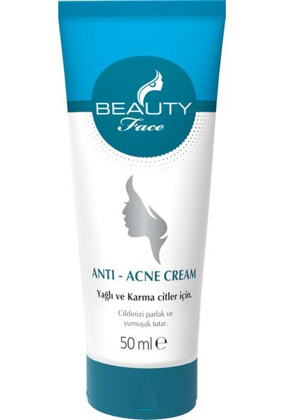Beauty Face Acne Kremi 50 ml +Beauty Face Acne Sabunu 90 gr.
