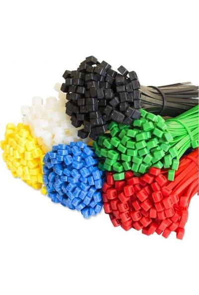 Kst Renkli Plastik Cırt Kelepçe 2,5 x 100 mm 600'lü