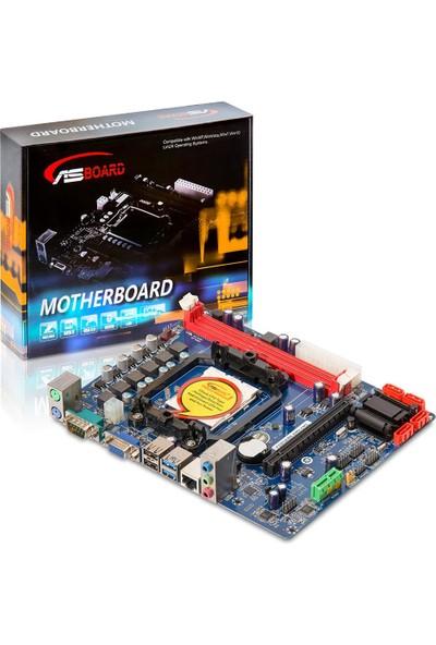 Asboard A88 Fm2+ Usb 3.0 Vga Lan Audıo Anakart
