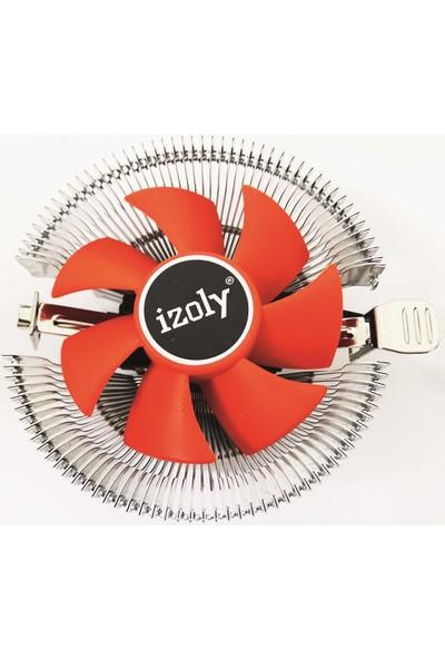 Izoly Cooler Universal (775 1155 1156 1150 1151-AMD)PIN 65W Işemci Fanı