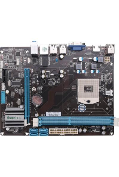 Esonic H55M MAL3 1333 Mhz DDR3 988 Pin Mini ITX Anakart